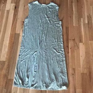 Front Slit Knit dress